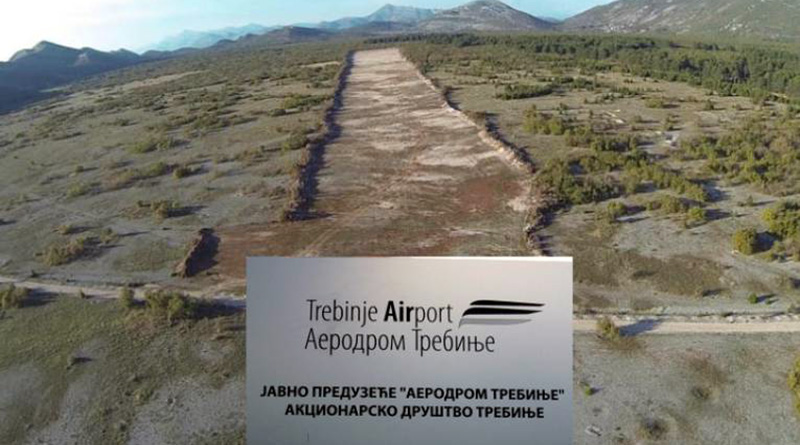 "Photo of Trebinje: Vlast RS ""gradi"" aerodrom"