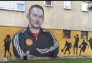 Mural u Doboju posvećen košarkaškom treneru Rufiju