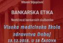 """Doboj: Promocija monografije """"Bankarska etika – Neetičnost bankarskih službenika"""""""