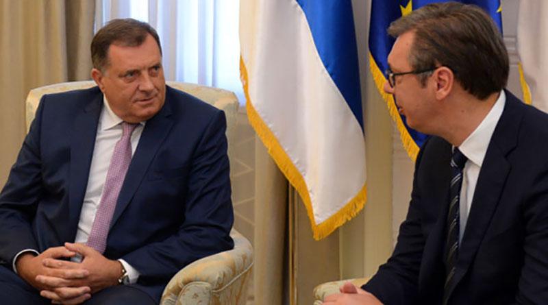 Photo of Dodik danas sa Vučićem u Beogradu
