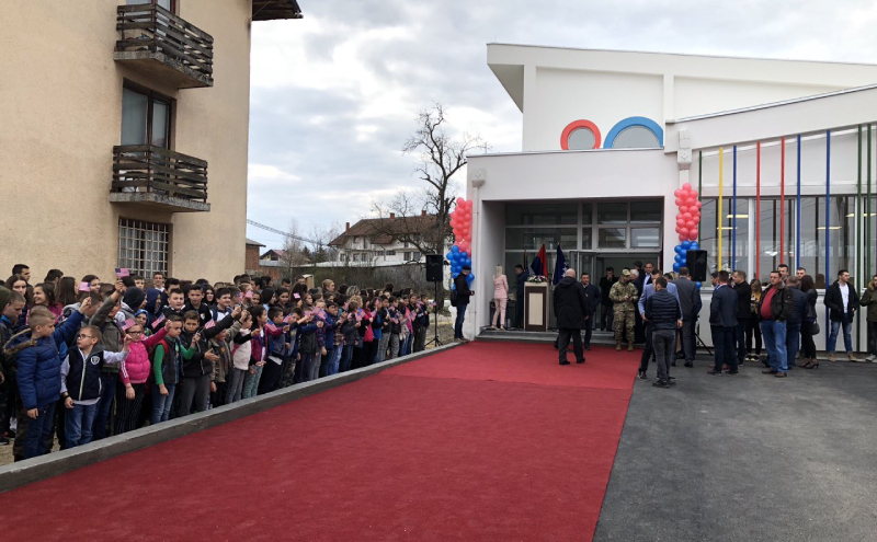 """Photo of U Podnovlju svečano otvoren novoizgrađeni objekat Osnovne škole """"Đura Jakšić"""""""
