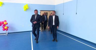 """U Makljenovcu rekonstruisana fiskulturna sala područne škole """"Dositej Obradović"""""""