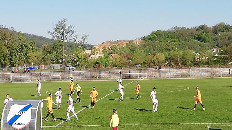 """Photo of Druga liga RS – Grupa """"Zapad"""": Tri boda pripala Dobojlijama Sloga (D) – Karanovac 2:1 (1:1) (FOTO)"""