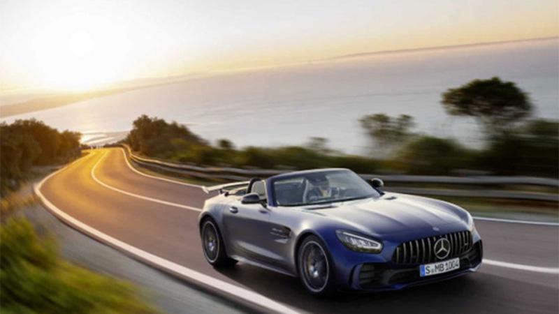 Photo of Mercedes predstavlja neodoljivi AMG GT R roadster