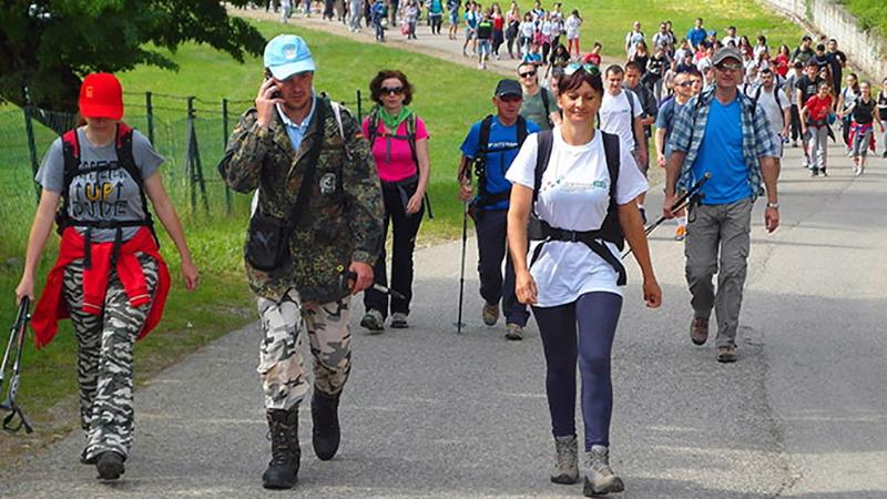 "Photo of Počinje ""Ozrenski planinarski maraton"""