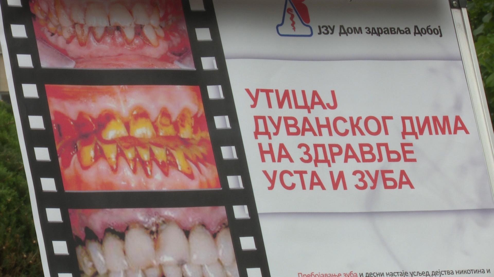 """Photo of JZU """"Dom zdravlja"""" Doboj: Obilježavanje Svjetskog dana borbe protiv pušenja (FOTO)"""
