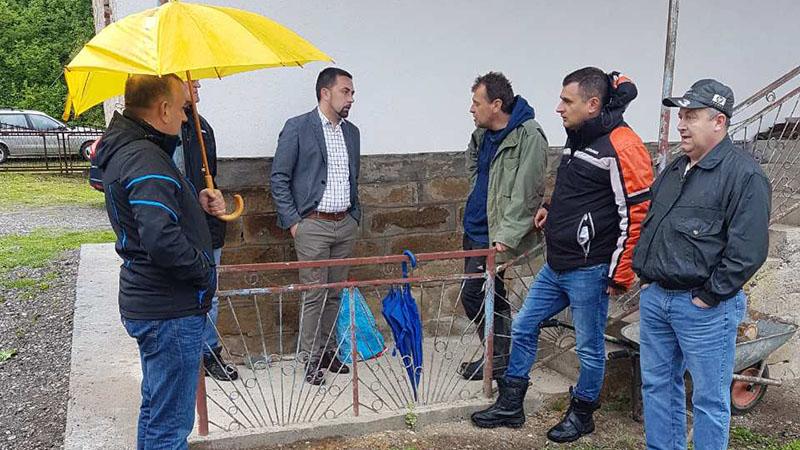 Photo of Gradonačelnik Jerinić sa poslanicima Jošićem i Marićem obišao mještane Šešlija, Ritešića i Majevca
