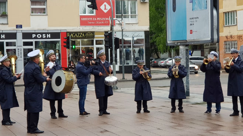 Photo of Prvomajski uranak, uz zvuke duvačkog orkestra