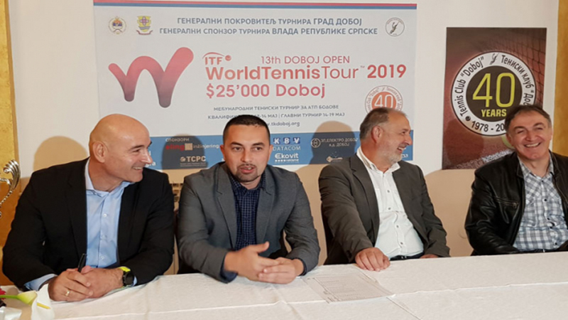 "Photo of DOBOJ: Svečano otvoren ITF fjučers ""Doboj open 2019"""