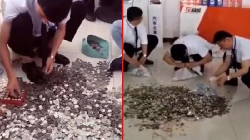 Photo of Kineskinja kupila automobil, platila u kovanicama: Radnici tri dana brojali novčiće