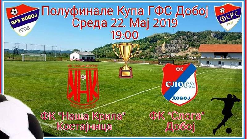 """Photo of Kup GFS Doboj: """"Krila"""" i """"Sloga"""" u borbi za finale Kupa"""