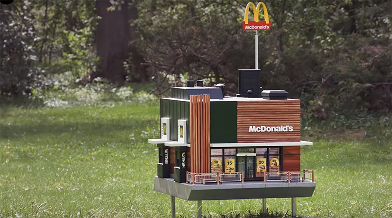 Photo of U Švedskoj i pčele imaju svoj restoran McDonald's (VIDEO)