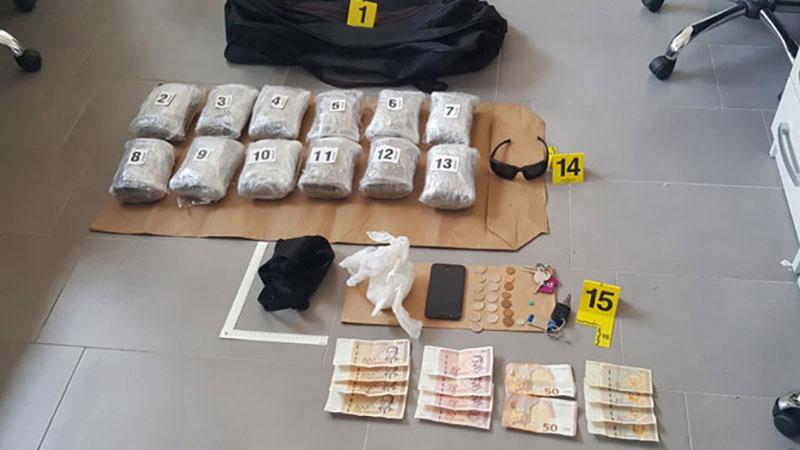 Photo of DOBOJ: Tri lica uhapšena, oduzeta veća količina droge i eksploziva (FOTO)