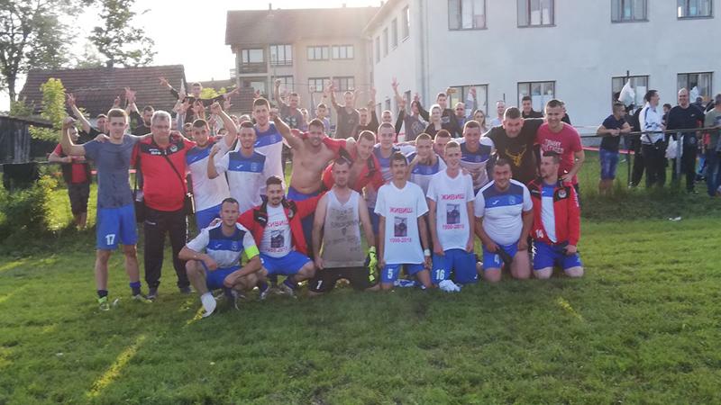 """Photo of Međuopštinska liga Doboj: """"Sokolovi"""" lete u viši rang – Polet – Ozrenski sokolovi 3:4 (0:2) (FOTO)"""