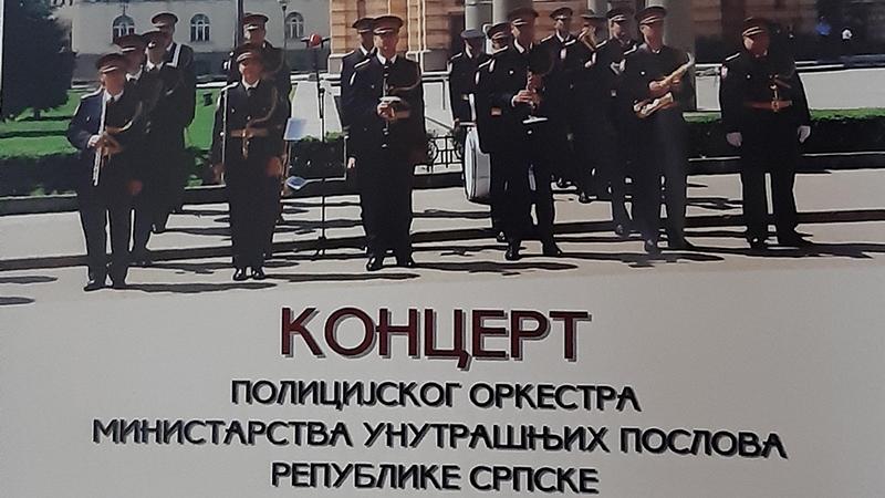 Photo of DOBOJ: Sutra koncert Policijskog orkestra Ministarstva unutrašnjih poslova Republike Srpske