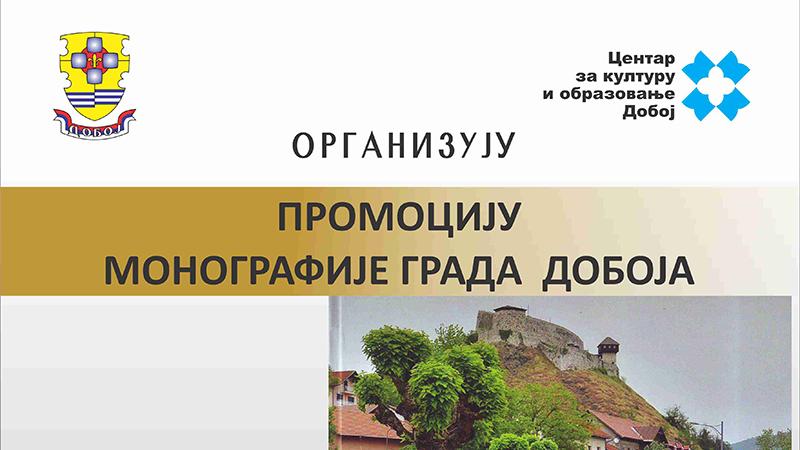 """Photo of DOBOJ: Sutra promocija monografije """"Grad Doboj"""""""