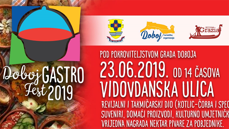 """Photo of DOBOJ: U nedjelju """"Gastro fest Doboj 2019"""""""