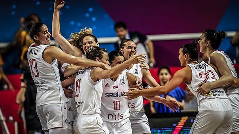 Photo of Košarkašice Srbije sa Belgijom za četvrtfinale