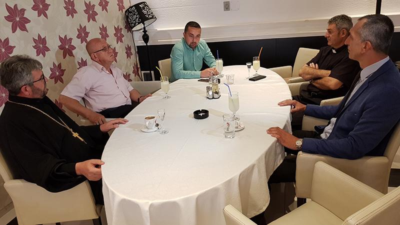 Photo of DOBOJ: Gradonačelnik Jerinić upriličio prijem za službenike vjerskih zajednica