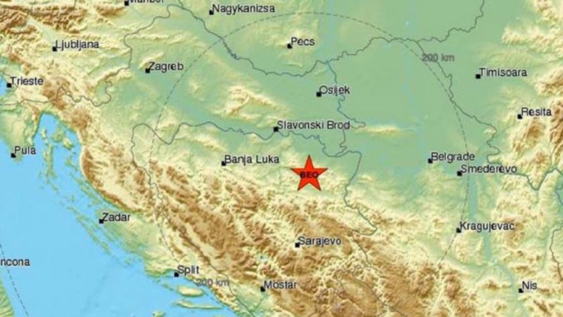 Photo of DOBOJ: Zemljotres 4,2 stepena potresao BiH, osjetio se i u gradu