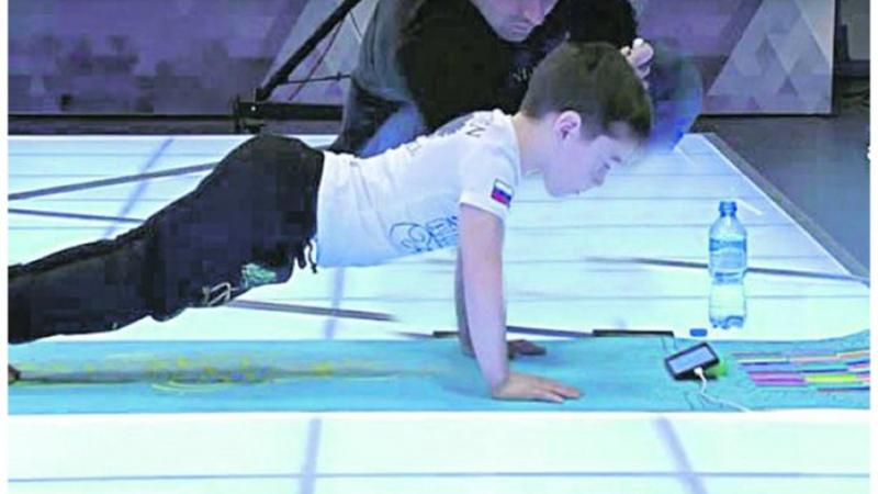 Photo of Šestogodišnjak uradio skoro 4.500 sklekova