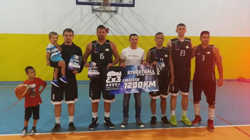 """Photo of DOBOJ: Održan turnir u uličnoj košarci """"Streetball 3×3 Doboj Kings of the Fortress"""" – Pobjednik """"King Doboj"""""""