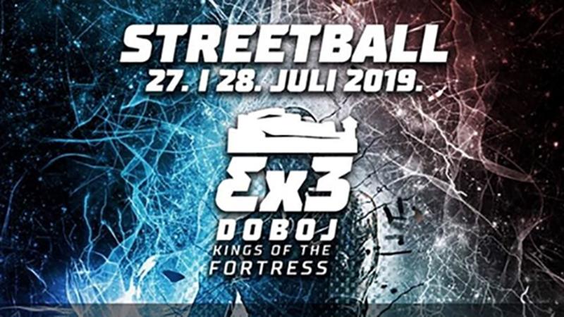 """Photo of DOBOJ: Sutra počinje turnir u uličnoj košarci """"Streetball 3×3 Doboj Kings of the Fortress"""" (FOTO/VIDEO)"""