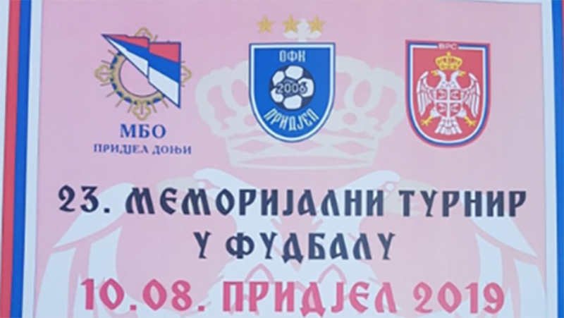 """Photo of DOBOJ: U Pridjelu Donjem za vikend 23. Memorijalni turnir """"10.08. Pridjel 2019"""""""