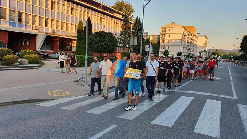 """Photo of DOBOJ: Održana """"Parada sporta"""", sutra počinje rukometni turnir (FOTO)"""