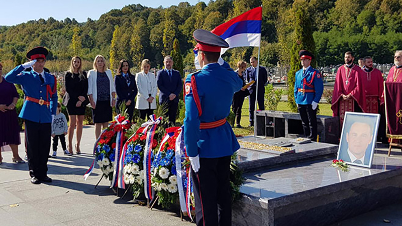 Photo of Položeni vijenci na grob Milana Јelića (FOTO)