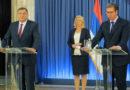 U Beogradu sastanak Vučića i lidera političkih stranaka Srpske