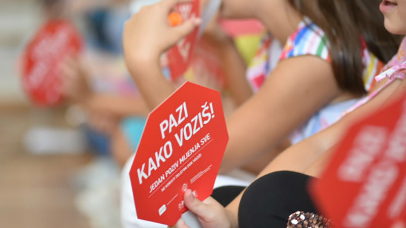 Photo of Počela je škola – pazi kako voziš, kampanja za bezbjednost djece u saobraćaju