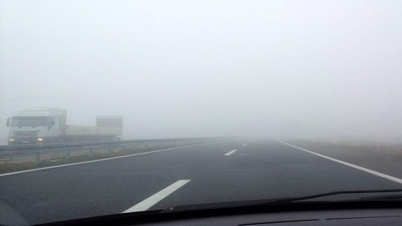 Photo of Putevi: Magla na dionicama u kotlinama i dolinama rijeka