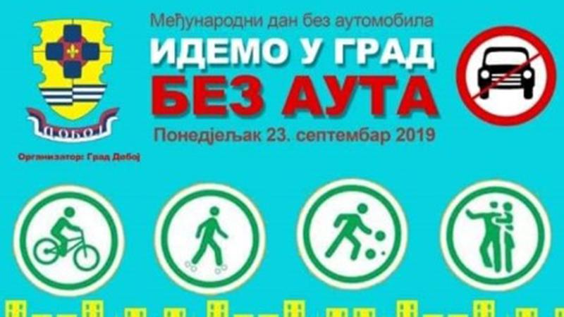 Photo of DOBOJ: Sutra obilježavanje Međunarodnog dana bez automobila