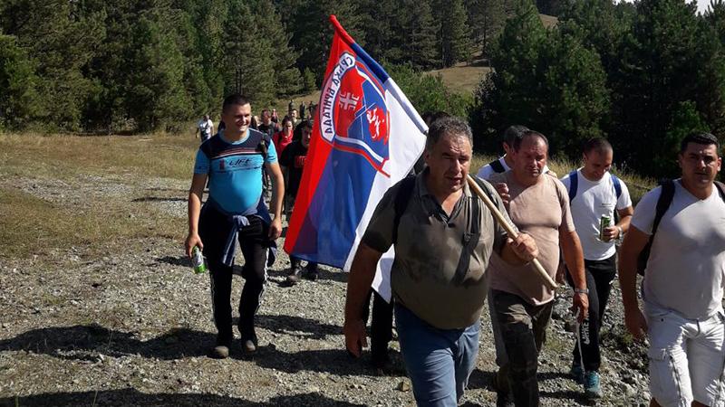 "Photo of Marš ""Stazama egzodusa"" protiče bez problema"