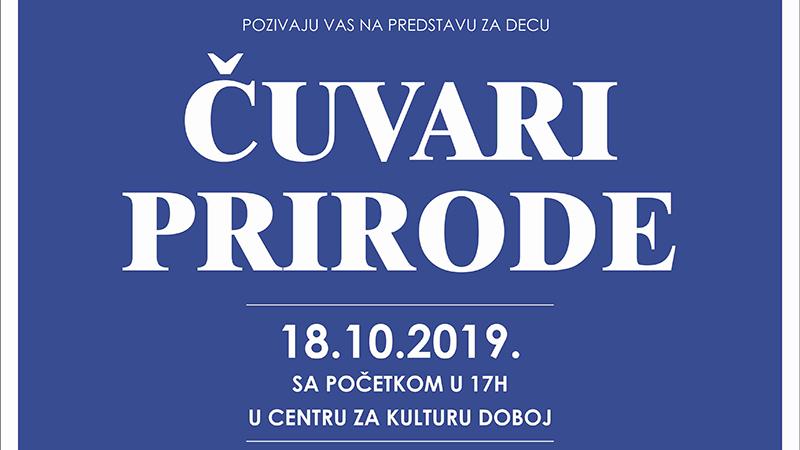 """Photo of DOBOJ: Danas predstava """"Čuvari prirode"""" beogradskog teatra """"Talija"""""""