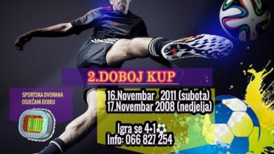 Photo of ŠF Rudanka/Doboj: 2. DOBOJ KUP – Odigrane utakmice prvog vikenda (FOTO)