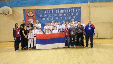 Photo of Zlato i bronza u Doboj sa ''WKC – Svjetskog karate prvenstva''