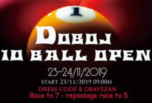 "Photo of DOBOJ: Za vikend turnir u bilijaru ""Doboj open 10 ball 2019"""