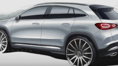 Photo of Mercedes GLA pred premijerom – dizajnerski crtež otkriva nove detalje
