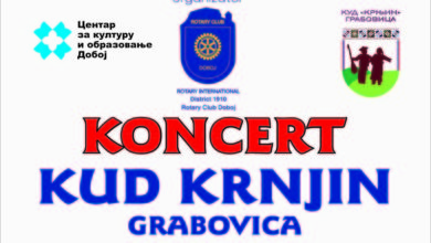 "Photo of DOBOJ: Sutra koncert KUD-a ""Krnjin"" Grabovica"