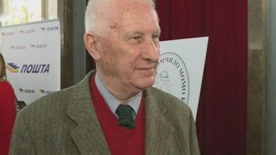 Photo of Matiji Bećkoviću Velika povelja Brankovog kola