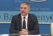 Photo of DOBOJ: Šeranić – U Srpskoj formirano koordinaciono tijelo, u FBiH krizni štab