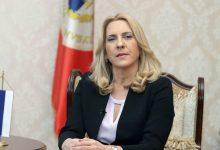 Photo of Cvijanovićeva večeras na prijemu u organizaciji ruskog ambasadora