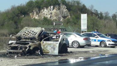 "Photo of DOBOJ: Zapalio se ""ford mondeo"" tokom vožnje (FOTO)"