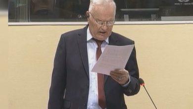 Photo of Odgođena statusna konferencija generalu Mladiću