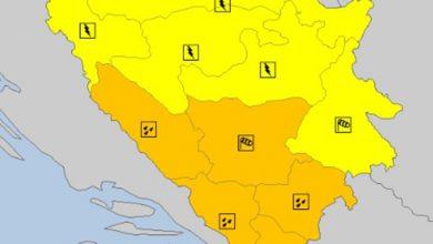 Photo of Meteoalarm zbog obilnih padavina i jakog vjetra