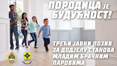 Photo of ДОБОЈ: Јавни позив – Cуфинансирање средстава за куповину 100 станова