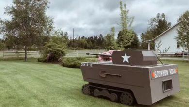 Photo of Stolar od kosilice napravio tenk (VIDEO)