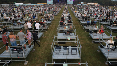 Photo of Održan prvi koncert sa socijalnom distancom (FOTO/VIDEO)